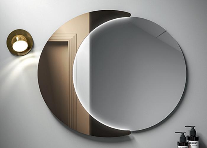 specchio con luna